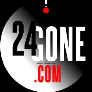 24Gone.com Logo